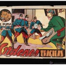 Tebeos: EL PUMA Nº 8. 1ª SERIE - ORDENES TRAGICAS - EDITORIAL MARCO - ORIGINAL. Lote 41378308