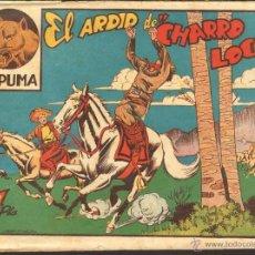 Tebeos: TEBEOS-COMICS CANDY - EL PUMA - Nº 7 - MARCO - 1952 - 1ª SERIE *AA99. Lote 42377156