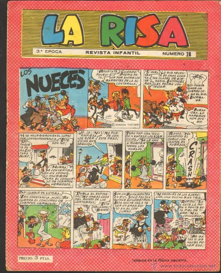 TEBEOS-COMICS CANDY - LA RISA - Nº 28 - ED. MARCO - 1951 - *AA99 (Tebeos y Comics - Marco - La Risa)