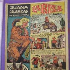 Tebeos: LA RISA , NUMERO 226 , JUANA CALAMIDAD - MARCO 1958 PENULTIMO DE LA COLECCION. Lote 44269199