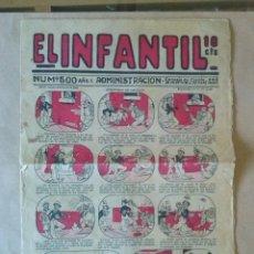 Tebeos: EL INFANTIL Nº 500 , MARCO -1924 -. Lote 43807296
