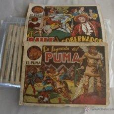 Tebeos: EL PUMA 1ª SERIE - ORIGINAL - EDITORIAL MARCO. Lote 43884175