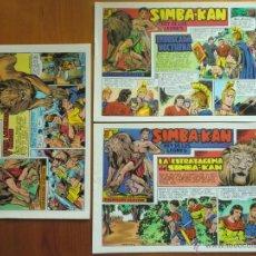 Tebeos: LOTE DE 3 TEBEOS COMICS SIMBA-KAN, REY DE LOS LEONES. NÚMEROS 9, 13, 15. NUEVOS. Lote 44055677