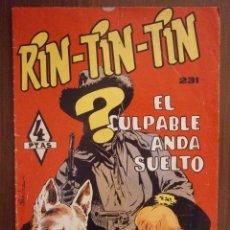 Tebeos: RIN TIN TIN Nº 231 EDITORIAL MARCO. Lote 44367492