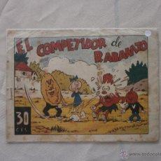 Tebeos: RABANITO Y CEBOLLITA - EÑ COMPETIDOR DE RABANITO- MARCO 1942. Lote 44686611