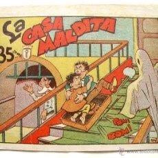 Tebeos: LA CASA MALDITA. EDITORIAL MARCO. CIRCA 1940. Lote 44739891