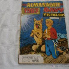 BDs: DAVY Y SU FIEL ROY ALMANAQUE 1967 ORIGINAL MARCO . Lote 44856295