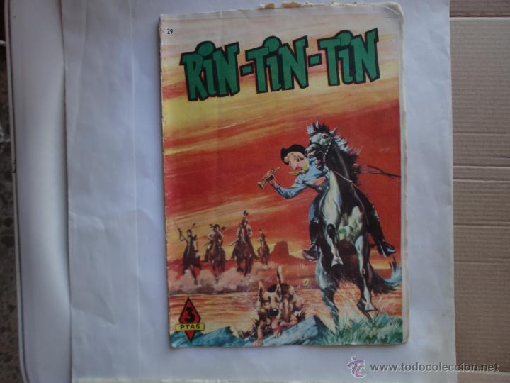 RIN TIN TIN Nº 29 ORIGINAL MARCO (Tebeos y Comics - Marco - Rin-Tin-Tin)