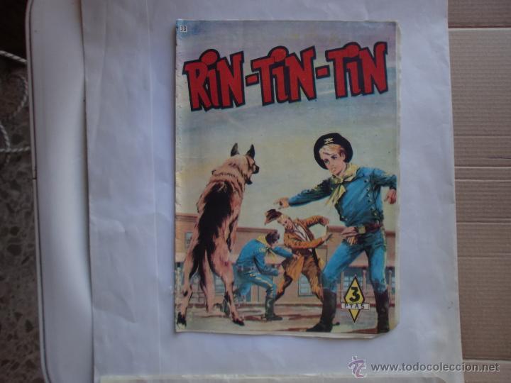 RIN TIN TIN Nº 33 ORIGINAL MARCO (Tebeos y Comics - Marco - Rin-Tin-Tin)