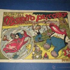 Biblioteca Especial para Niños * MONITO PESCADOR * de la Editorial MARCO - Año 1940s.