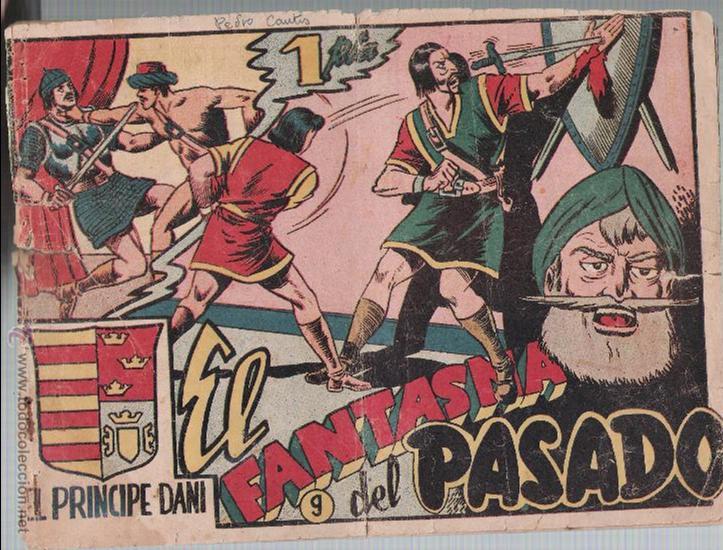 EL PRÍNCIPE DANI Nº 9: EL FANTASMA DEL PASADO. MARCO 1950. (Tebeos y Comics - Marco - Otros)