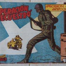 Tebeos: OPERACION SECUESTRO - Nº7 - BUEN ESTADO - ORIGINAL. Lote 47428956