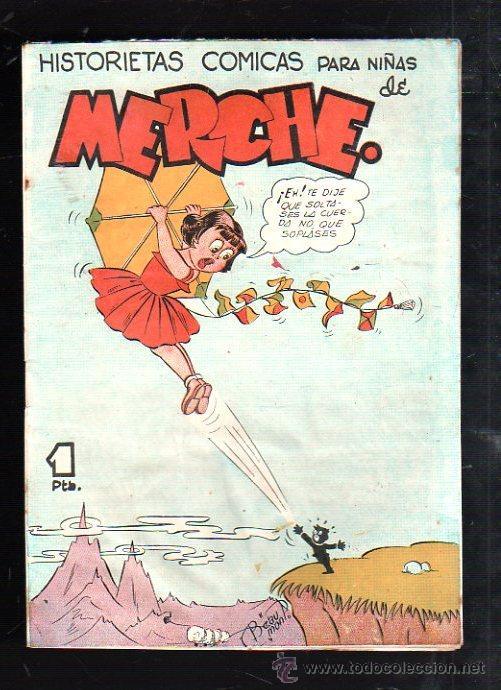 HISTORIETAS COMICAS PARA NIÑAS DE MERCHE. Nº 66. BARCELONA (Tebeos y Comics - Marco - Otros)
