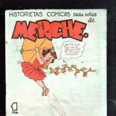 Tebeos: HISTORIETAS COMICAS PARA NIÑAS DE MERCHE. Nº 66. BARCELONA. Lote 47528312