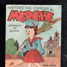 Tebeos: HISTORIETAS COMICAS PARA NIÑAS DE MERCHE. Nº 39. DOMINGO DE RAMOS. BARCELONA. Lote 47528315