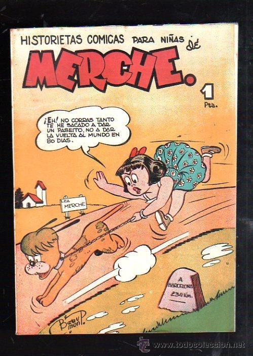 HISTORIETAS COMICAS PARA NIÑAS DE MERCHE. Nº 67. BARCELONA (Tebeos y Comics - Marco - Otros)