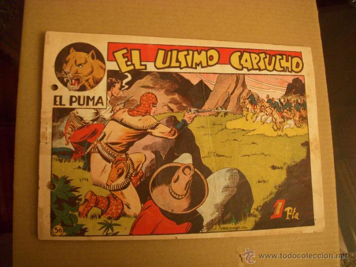 EL PUMA Nº 56, EDITORIAL MARCO (Tebeos y Comics - Marco - Otros)