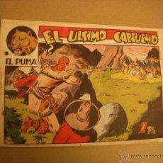 Tebeos: EL PUMA Nº 56, EDITORIAL MARCO. Lote 47703329