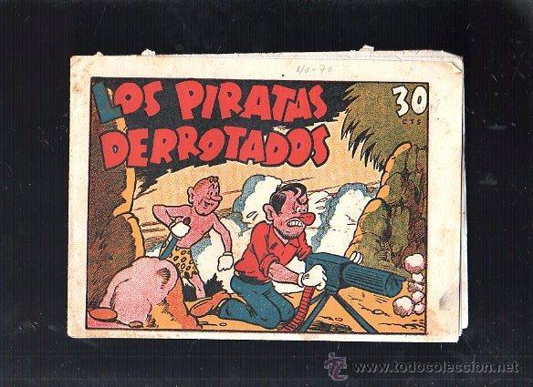 LOS PIRATAS DERROTADOS. Nº 33. EDICIONES MARCO (Tebeos y Comics - Marco - Otros)