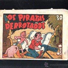 Tebeos: LOS PIRATAS DERROTADOS. Nº 33. EDICIONES MARCO. Lote 47832751