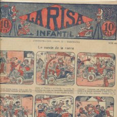 Tebeos: LA RISA INFANTIL Nº 483. MARCO 1925.. Lote 47968155