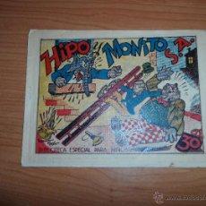 Tebeos: BIBLIOTECA ESPECIAL PARA NIÑOS, HIPO, MONITO Y FIFI S.A EDITORIAL MARCO 1942 ORIGINAL. Lote 48453894