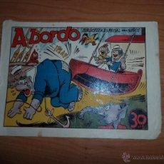 Tebeos: BIBLIOTECA ESPECIAL PARA NIÑOS, HIPO, MONITO Y FIFI A BORDO EDITORIAL MARCO 1942 ORIGINAL. Lote 48454100