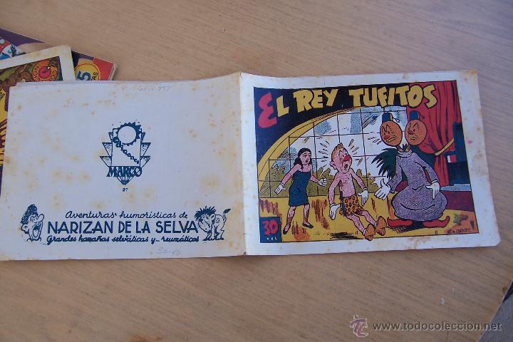 MARCO NARIZAN DE LA SELVA Nº 27 (Tebeos y Comics - Marco - Otros)