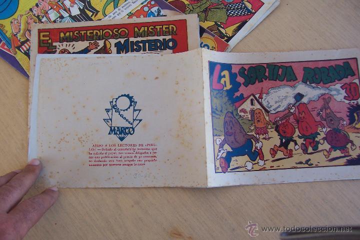 MARCO.- RABANITO Y CEBOLLETA Nº LA SORTIJA ROBADA (Tebeos y Comics - Marco - Otros)