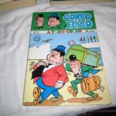 Tebeos: EL GORDO Y EL FLACO Nº 3.DISTRIBUCIONES MARCO IBERICA MADRID 1980. Lote 49329064
