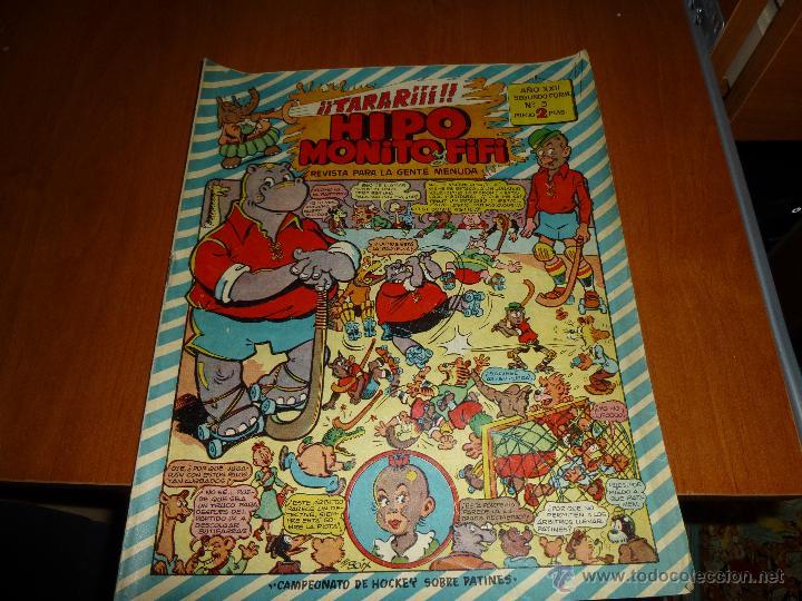 HIPO, MONITO Y FIFI Nº 3 DE 2 PTAS. CAMPEONATO DE HOCKEY SOBRE PATINES, DE MARCO. (Tebeos y Comics - Marco - Hipo (Biblioteca especial))