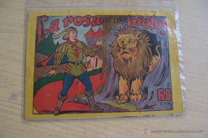 MARCO MONOGRÁFICO, LA ROSA DE HIELO DE 60 CTS (Tebeos y Comics - Marco - Otros)