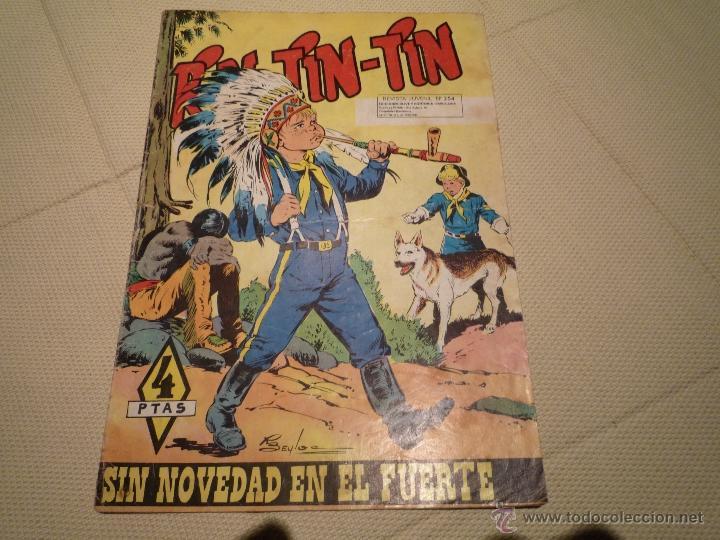 SIN NOVEDAD EN EL FUERTE (Tebeos y Comics - Marco - Rin-Tin-Tin)