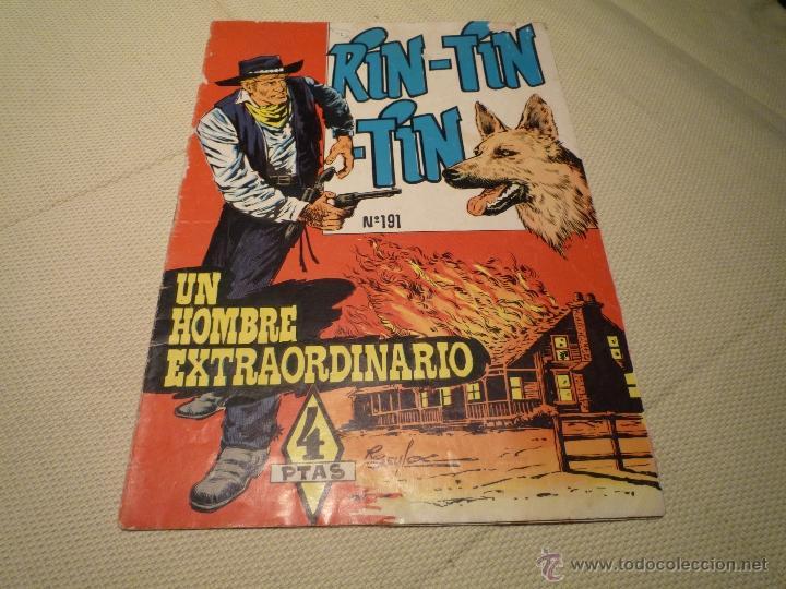 UN HOMBRE EXTRAORDINARIO (Tebeos y Comics - Marco - Rin-Tin-Tin)