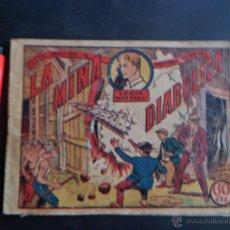 Tebeos: JAVIER MONTANA ~ LA MINA DIABÓLICA ~ EDITORIAL MARCO 1940 ~ GRAN COLECCIÓN DE AVENTURAS GRÁFICAS ~. Lote 49865991
