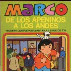 Tebeos: MARCO DE LOS APENINOS A LOS ANDES NUMERO 9 PRONTO NOS DIREMOS ADIOS AÑO 1976 -------(REF M1 E1). Lote 49982166