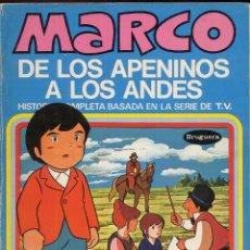 Tebeos: MARCO DE LOS APENINOS A LOS ANDES NUMERO 8 LAS LAGRIMAS DE FIORINA AÑO 1976 --------(REF M1 E1). Lote 49982345