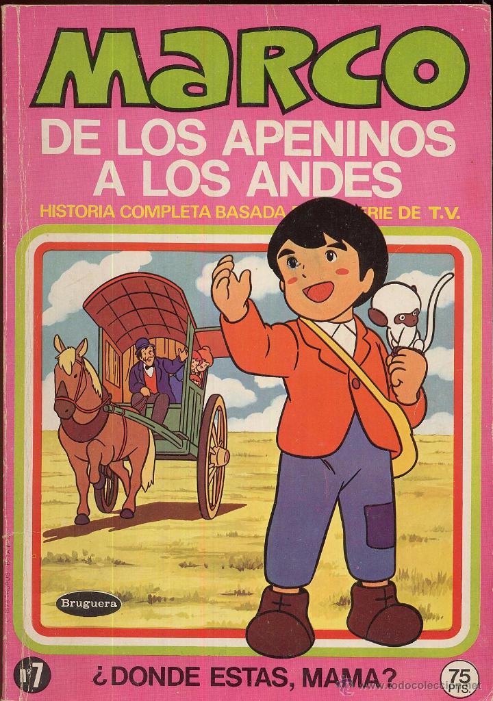 MARCO DE LOS APENINOS A LOS ANDES NUMERO 7 DONDE ESTAS MAMA AÑO 1976 ---------(REF M1 E1) (Tebeos y Comics - Marco - Otros)