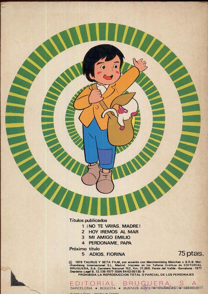 Tebeos: MARCO DE LOS APENINOS A LOS ANDES Numero 4 PERDONAME PAPA Año 1976 - Foto 2 - 49982534
