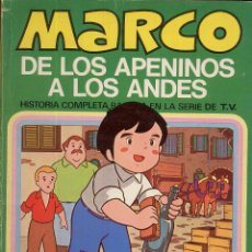 Tebeos: MARCO DE LOS APENINOS A LOS ANDES NUMERO 3 MI AMIGO EMILIO AÑO 1976 ----------(REF M1 E1). Lote 49982583