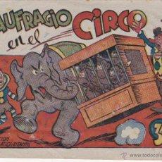 Tebeos: COMIC COLECCION ACROBATICA INFANTIL NAUFRAGIO EN EL CIRCO . Lote 50390532