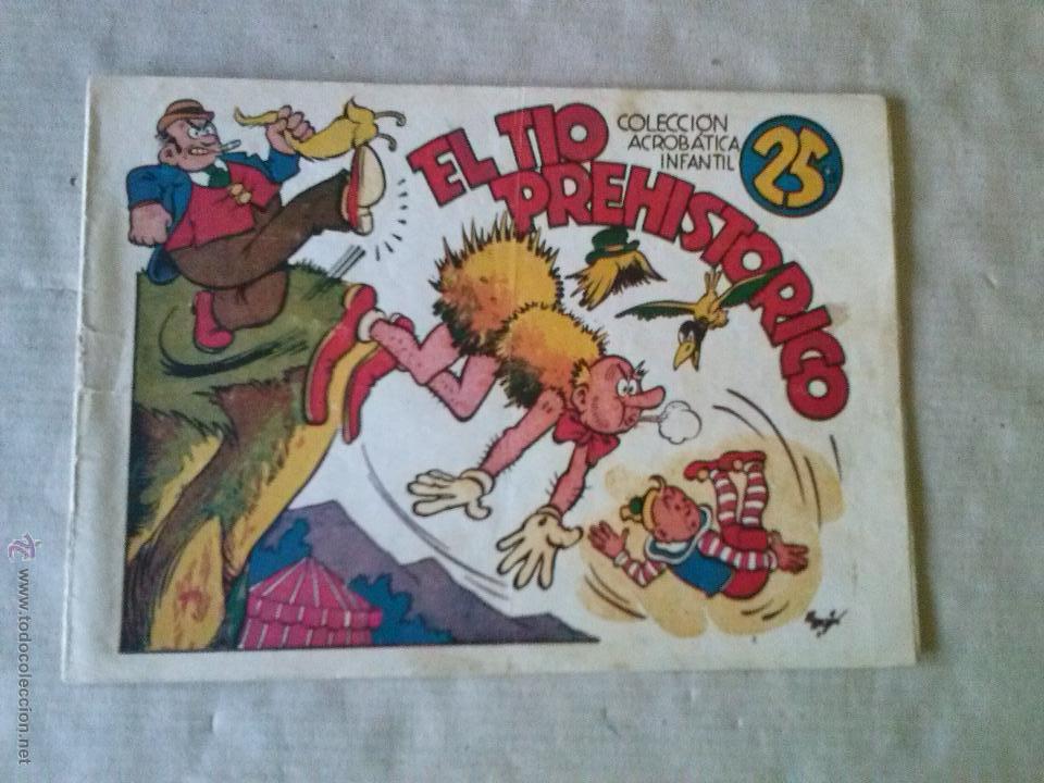 el tio prehistorico , acrobatica infantil s/n - - Comprar Tebeos ...