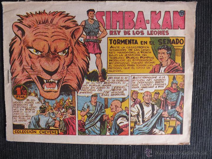 SIMBA KAN Nº 33 EDITORIAL MARCO (Tebeos y Comics - Marco - Otros)