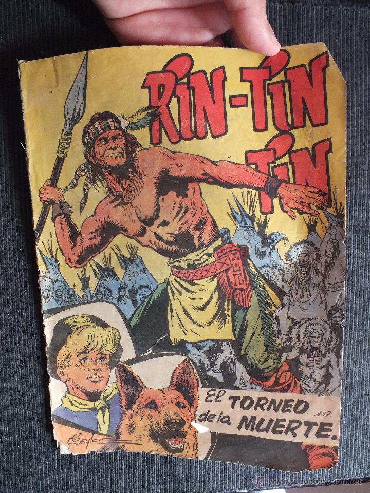 RIN TIN TIN Nº 117 EDITORIAL MARCO (Tebeos y Comics - Marco - Rin-Tin-Tin)