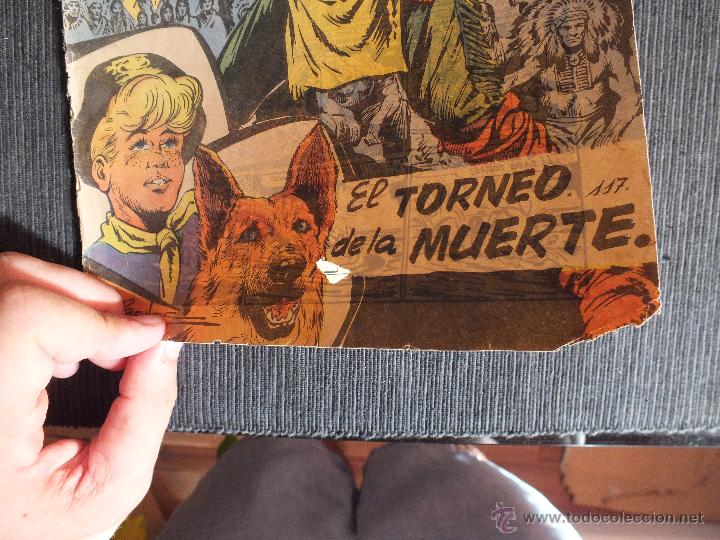 Tebeos: RIN TIN TIN Nº 117 EDITORIAL MARCO - Foto 2 - 51001859