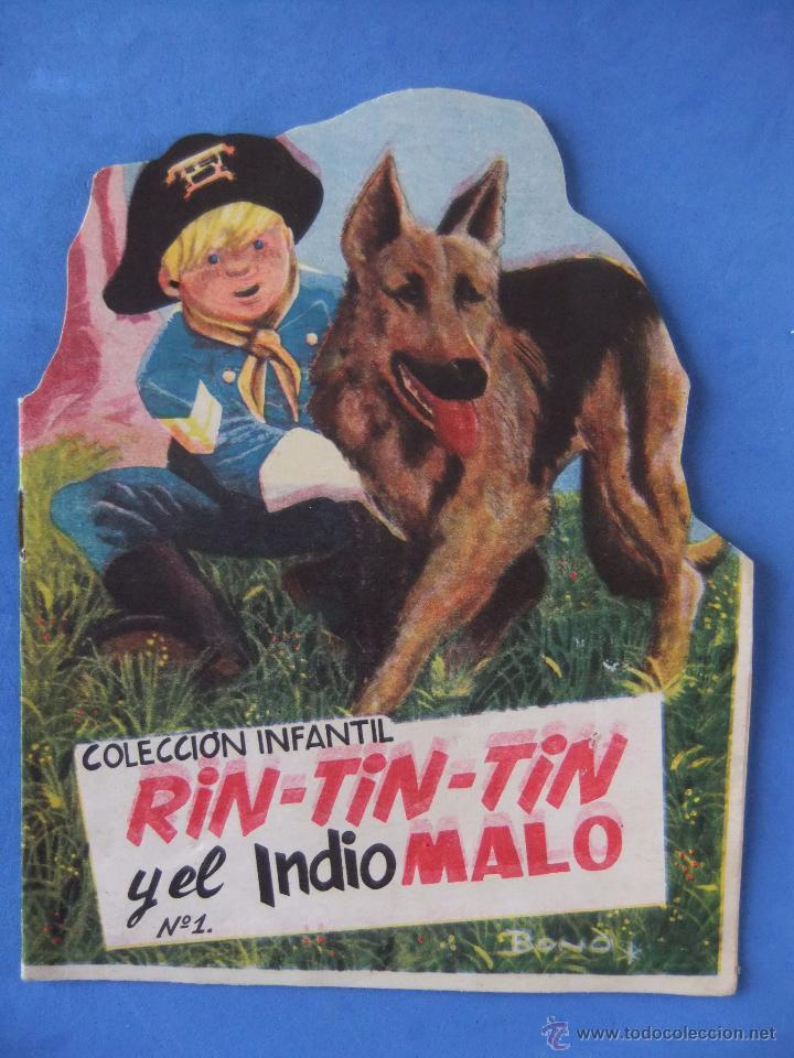 COLECCION INFANTIL RIN TIN TIN Nº 1 RIN TIN TIN Y EL INDIO MALO EDITORIAL MARCO 1962 (Tebeos y Comics - Marco - Rin-Tin-Tin)