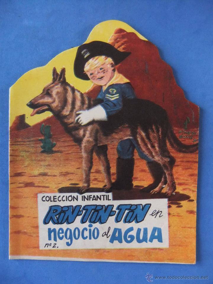 COLECCION INFANTIL RIN TIN TIN Nº 2 EL NEGOCIO DEL AGUA EDITORIAL MARCO 1962 (Tebeos y Comics - Marco - Rin-Tin-Tin)