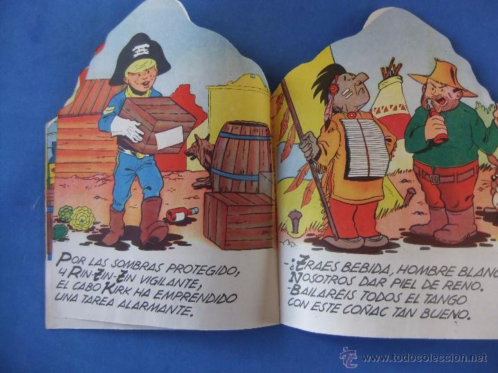 Tebeos: COLECCION INFANTIL RIN TIN TIN Nº 2 EL NEGOCIO DEL AGUA EDITORIAL MARCO 1962 - Foto 2 - 51261022