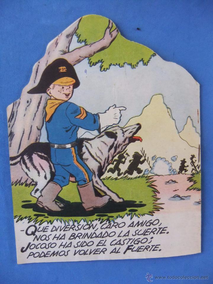 Tebeos: COLECCION INFANTIL RIN TIN TIN Nº 2 EL NEGOCIO DEL AGUA EDITORIAL MARCO 1962 - Foto 3 - 51261022