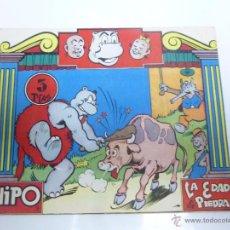 Tebeos: HIPO COLOR Nº 3. LA EDAD DE PIEDRA. ORIGINAL. EDITORIAL MARCO 1962 OFRT. Lote 102707210